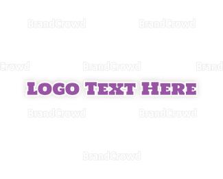 Traditional - Purple & Traditional logo design