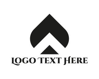 Poker - Ace Leaf logo design