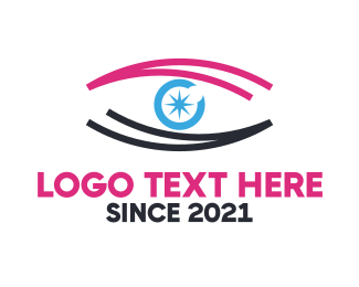 Eye - Star Eye logo design