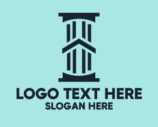 Estate - Real Estate Pillar  logo design