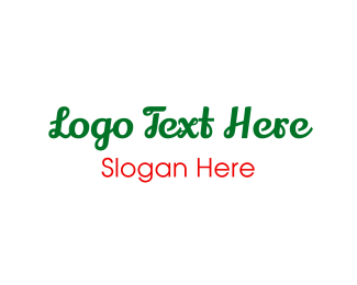 Taqueria - Green & Cursive logo design