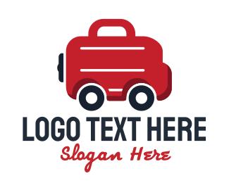 Caravan - Bag Van logo design