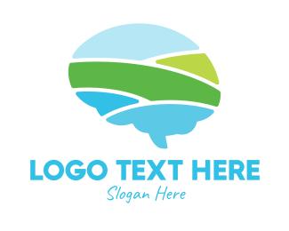 Psychologist - Smart Landscape logo design