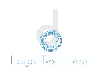 Branding - Shutter Letter D logo design
