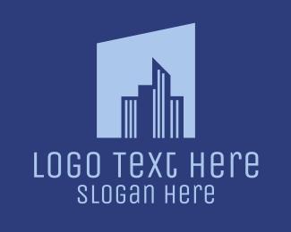 Urban Planning - Urban City Buildings logo design