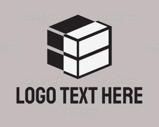 Blocks - Tech Cube logo design