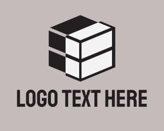 Dice - Tech Cube logo design