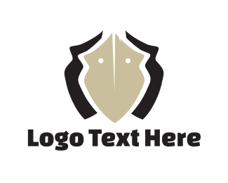 Mask - Ceramic Vase logo design