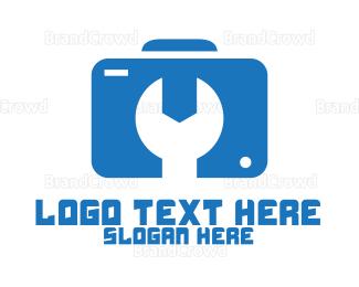 Technician - Camera Technician logo design