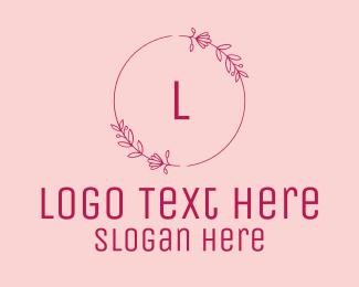 Fashion - Pink Fashion Lettermark logo design
