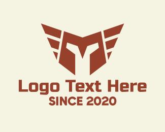 Firm - Red Helmet logo design
