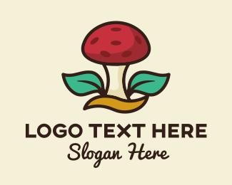 Fungus - Wild Mushroom logo design