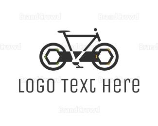 Bicycle - Wrench Bicycle logo design