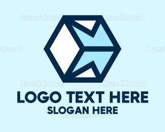 Airmail - Mail Cube  logo design