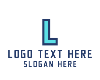 Eighties - Arcade Gaming Letter A logo design