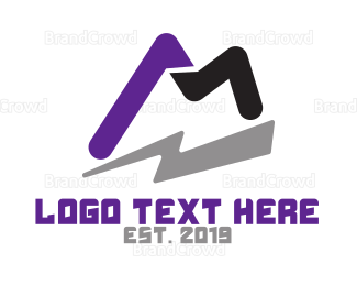 Shadow - Thunder M Gaming logo design