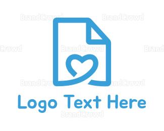 Doc - Love Letter logo design