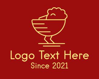 Poultry - Chicken Bowl logo design