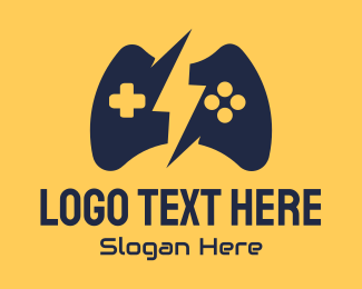 Game - Gaming Controller logo design