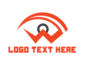 Red Eye - Spy Red Eye logo design