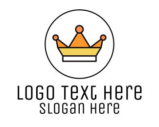 Symmetrical - Geometric Royalty logo design