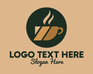 Hot - Hot Coffee Cup logo design