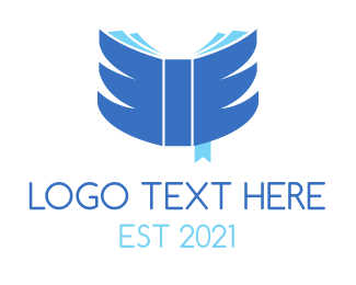 Study - Wing Book logo design