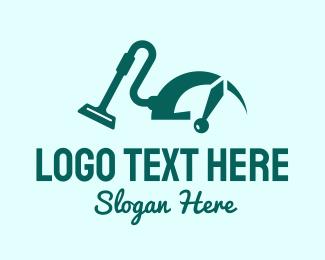 Speed - Vacuum Cleaning Speed logo design