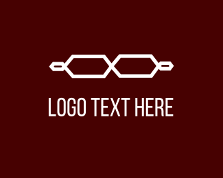 Optical - White Glasses logo design