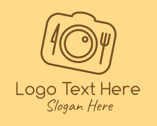Digital Photography - Camera Shutter Restaurant logo design