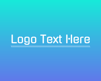 Techno - Futuristic Tech Wordmark logo design
