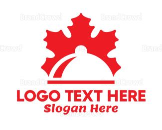 Canadian - Canadian Leaf Buffet logo design