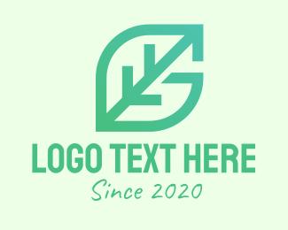Nature Conservation - Green Leaf Letter G logo design