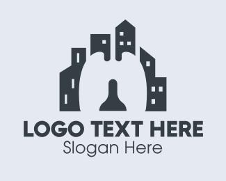 Transmission - City Respiratory Lungs logo design