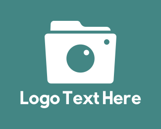 Photograph - Camera Folder logo design