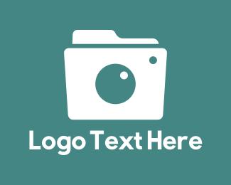 Snap - Camera Folder logo design