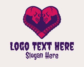 Skull Head - Gothic Skull Lover logo design
