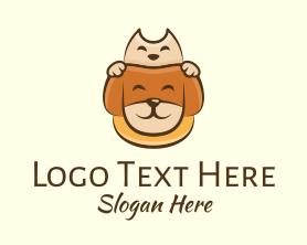 Puppy - Adorable Pet Animals logo design