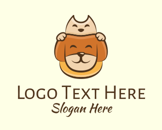 Animal - Adorable Pet Animals logo design