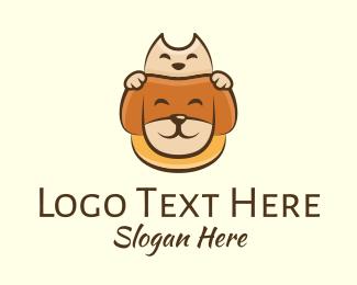 Pet - Adorable Pet Animals logo design