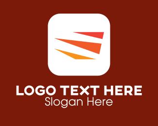 Logistics - Triangle Logistics Service  logo design