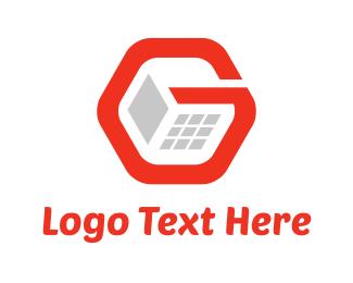 Programmer - G Computer logo design