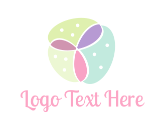 Florist - Feminine Flower logo design