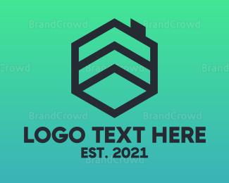 Broker - Black Cube House logo design