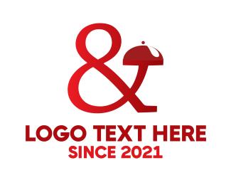 Waiter - Catering & Banqueting logo design