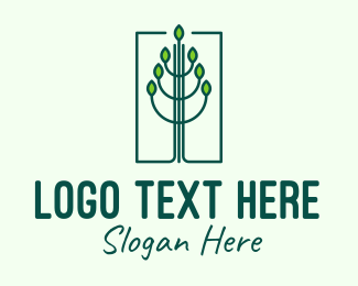Mangrove - Green Environmental Forest logo design