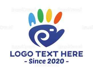 Hand - Hand Camera logo design