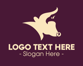 Matador - Eagle Bull logo design