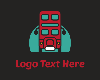 Bus - London Bus logo design