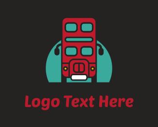 Robotics - London Bus logo design